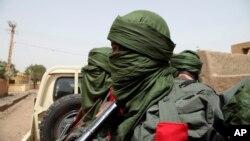 Des militaires maliens lors d'une opération à Gao, Mali, 232 février 2017.