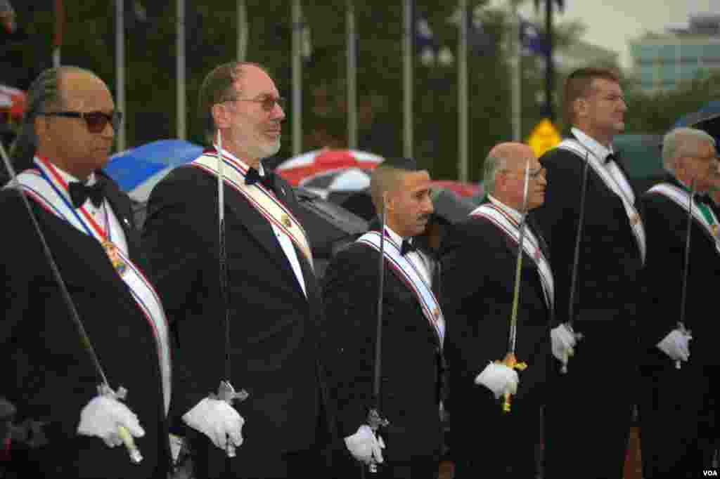 Члены организации «Рыцари Колумба»