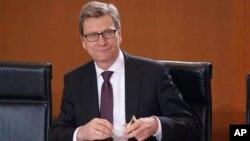 Nemački šef diplomatije Gvido Vestervele
