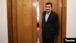 محمود احمدی نژاد رئیس جمهوری پیشین ایران