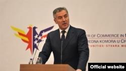 Predsednik Vlade Crne Gore Milo Djukanović na poslovnom ručku Američke privredne komore. Autor: Biro