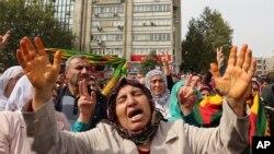 Fúria popular após o atentado de 10 de outubro, Turquia