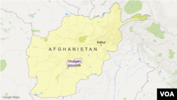 The reported attacks took place in Uruzgan province.