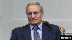 Syria's Vice President Farouq al-Shara (file photo)
