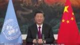 中国国家主席习近平资料照(路透社转发联合国照片)