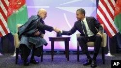 Хамид Карзай и Барак Обама (фото из архива)