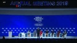 Forum Ekonomi Dunia Cemaskan Lambatnya Pertumbuhan