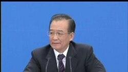 2012-03-14 美國之音視頻新聞: 溫家寶稱中國必須要推行政改