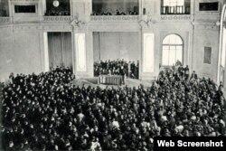 AXC dövründə çoxpartiyalı parlamentin iclası