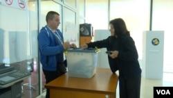 Glasanje na ranijim izborima na severu Kosova