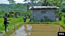 Realisasi pembangunan infrastruktur perdesaan akan fokus pada pembangunan infrastruktur permukiman, pengadaan air bersih dan irigasi untuk lahan pertanian. (Foto: Dok)