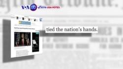 Manchetes Americanas 28 Abril: Cruz puxa Fiorina, Trump a comandar, Bernie está a afrouxar