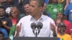 2011-09-06 美國之音視頻新聞: 奧巴馬在國會講話前概述就業計劃