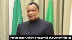 Président Denis Sassou N'Guesso na Oyo,Congo-Brazzaville, 1 février 2020. (Présidence Congo-Brazzaville)