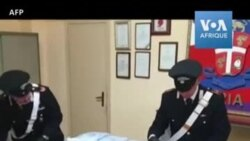 Coronavirus: saisie de masques de protection volés en Italie