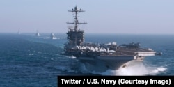 The US Navy has announced that it will reactivate its 2nd North Atlantic Patrol Fleet, seven years after dismantling it, in a context of new dangers and the rise of Russia, May 5, 2018.
