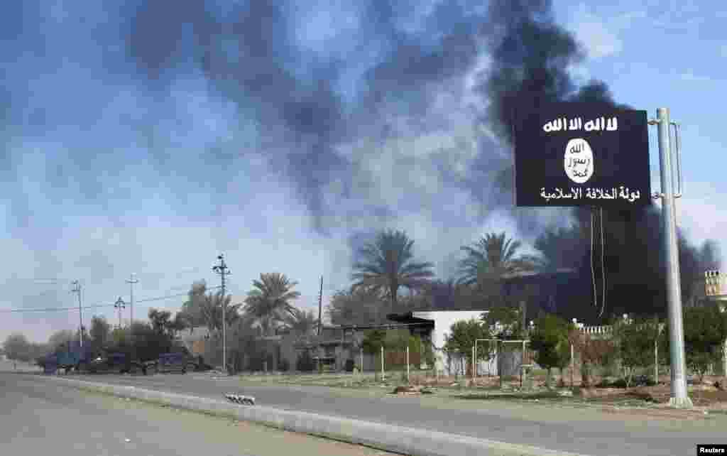 عراقی فورسز نے ملک کے مغربی علاقے البغدادی سے 'داعش' کے جنگجوؤں کو باہر دھکیل دیا ہے۔