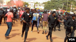 Bissau, tentativa de manifestação de estudantes