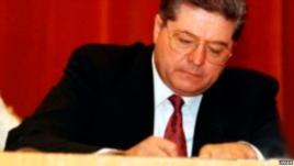 乌克兰前总理拉扎连科 (作者提供)