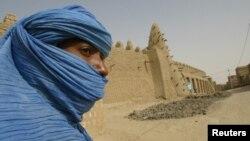 Timbuktuda XIII-asrda bunyod etilgan masjid.