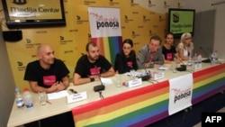 Konferencija za novinare organizatora Parade ponosa