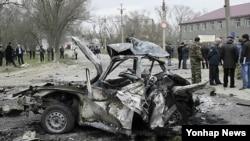 자살폭탄 테러가 일어난 현장(자료사진)