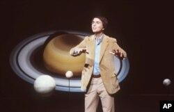지난 1981년 강연을 하고 있는 칼 세이건.