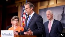 美國共和黨參議員約翰·圖恩(資料圖片)週日表示,參議院將於本週就一項醫保法案進行程序性投票。