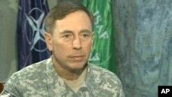 彼得雷乌斯将军10月29日接受美国之音波斯新闻网的采访