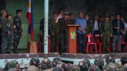 အစြန္းေရာက္လက္ေအာက္က မာရာ၀ီ လြတ္ေျမာက္ Duterte ေၾကညာ