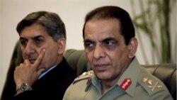 رییس سازمان اطلاعات پاکستان با مقامات سی آی ای گفت و گو می کند