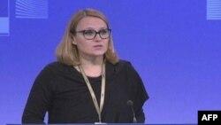 Portparolka Visoke predstavnice EU, Maja Kocijančič (arhivska fotografija)