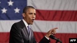 Tổng thống Mỹ nói cắt giảm thâm hụt ngân sách và tạo điều kiện để gia tăng công ăn việc làm tiếp tục là trọng tâm hoạt động của chính phủ ông.
