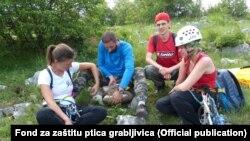 Fond za zaštitu ptica grabljivica na terenu, Foto: Official publication