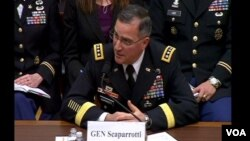 美軍駐南韓部隊司令斯卡帕羅蒂(視頻截圖)