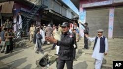 بههۆی تهقینهوهی بۆمب له ههرێمی سندی پاکستان چهندین کهس بریندار دهبن