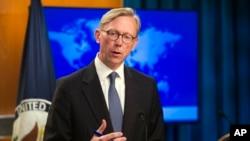 برایان هوک، نماینده ویژه وزارت خارجه ایالات متحده در امور ایران