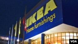 Toko meubel IKEA.