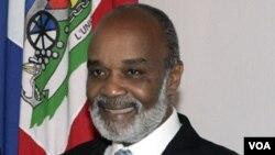 Prezidan ayisyen an, René Garcia Préval