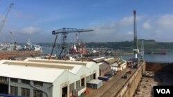 Brodogradilište u Kornvolu