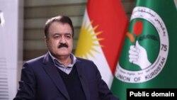 قادر عهزیز- ئهندامی مهكتهبی سیاسی یهكێتی نیشتمانی كوردستان- فۆتۆ:-تهلان كۆسرهت
