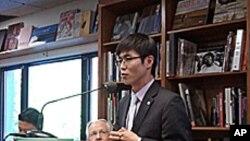 '14호 관리소에서의 탈출' 이야기의 주인공 신동혁 씨.