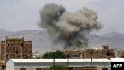 پس از حمله هوایی عربستان سعودی به صنعا - 29 سپتامبر 2015