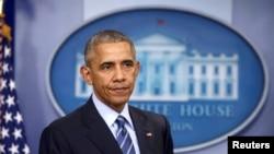 Predsednik SAD Barak Obama (REUTERS/Carlos Barria TPX IMAGES OF THE DAY - RTX2VEC2)