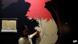 На карте - две Кореи