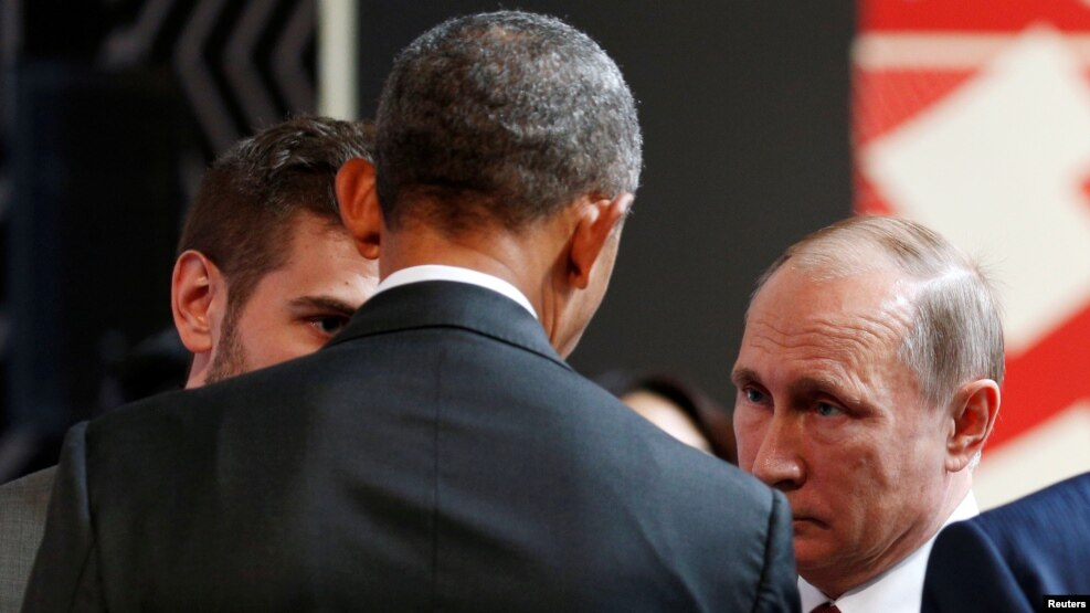Presidenti Obama takohet me Presidentin rus Putin