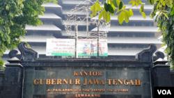Kantor Gubernur Jawa Tengah di Semarang. (Foto: Nurhadi)
