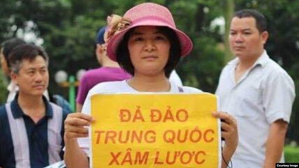 Nhà hoạt động nhân quyền Trần Thị Nga.
