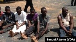 'Yan fashi da makami da 'yansandan jihar Adamawa suka cafke