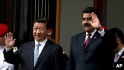 Predsednik Kine Ši Djinping i predsednik Venecuele Nikolas Maduro